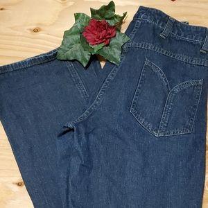Willi Smith Boot Leg Cut Pocket Zip Jeans